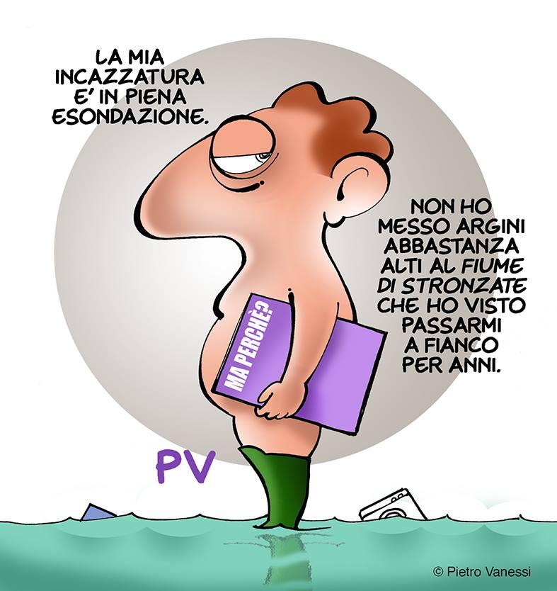 Esondazione interiore, Pietro Vanessi, PV